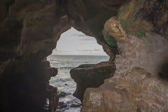 赫拉克勒斯海角Spartel,唐基尔洞  库存照片
