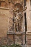 赫拉克勒斯雕象看法  图库摄影
