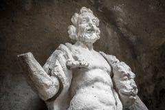 赫拉克勒斯雕象 库存图片