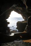 赫拉克勒斯洞在Tanger 免版税库存图片