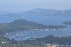 赫柏避风港sai kung 2014年9月9日 库存图片