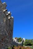 赫瓦尔岛镇城市墙壁  免版税库存图片