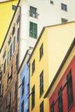 赫诺瓦五颜六色的房子街市  免版税库存照片