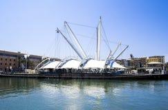 赫诺瓦港在意大利 图库摄影