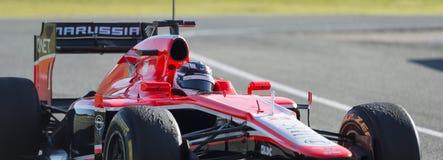 Marussia F1 免版税库存照片