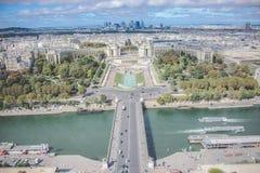 赭色河-巴黎-法国 免版税库存照片
