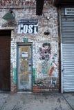 走在纽约街道 免版税库存图片