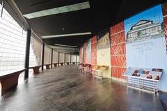 走廊全国越野障碍赛马剧院 免版税库存照片