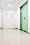 走廊内部办公室 免版税图库摄影