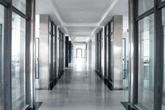 走廊办公室空间 免版税库存图片
