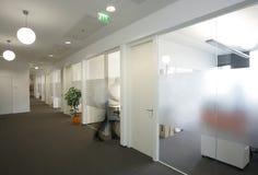 走廊办公室 图库摄影