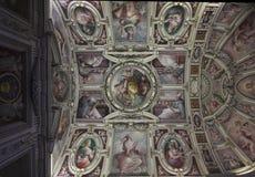 走廊博物馆梵蒂冈 免版税库存照片
