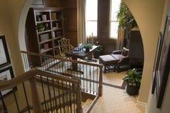 走廊家庭豪华办公室 免版税库存照片