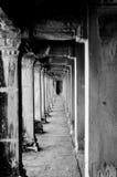 走廊寺庙 库存照片