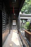 走廊有历史的结构 库存图片