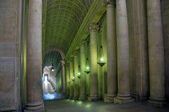 走廊梵蒂冈 库存照片