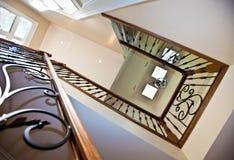 走廊楼梯 免版税库存照片