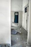 走廊白色 免版税库存图片
