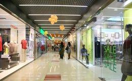 走廊购物中心 图库摄影