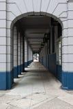 走廊透视图 免版税库存图片