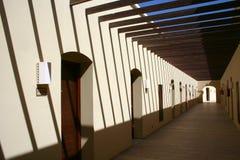 走廊门许多 免版税库存图片