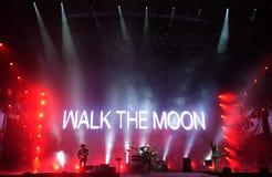 走月亮 免版税库存照片