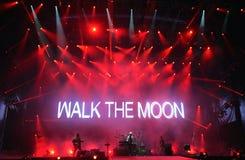 走月亮 库存照片
