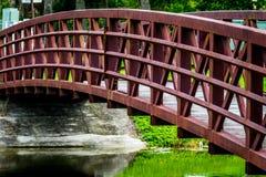 走的桥梁 免版税库存图片