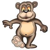 走的熊 免版税图库摄影