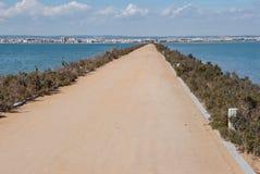 走的路线通过3月Menor 库存图片