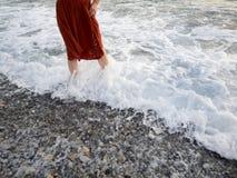 走的水 免版税图库摄影