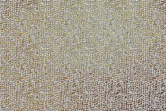 走路的金黄现代无缝的数字难看的东西纹理样式,创造性的抽象背景 库存图片