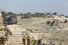 走通过耶路撒冷 免版税库存照片