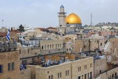 走通过耶路撒冷 免版税库存图片