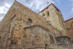 走通过耶路撒冷 免版税图库摄影