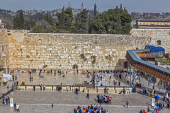 走通过耶路撒冷 库存照片