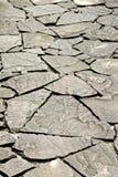 走道由石头制成 图库摄影