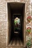 走廊入口 免版税库存照片