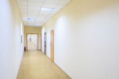 走廊办公室 免版税库存图片