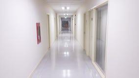 走廊在医院 免版税库存图片