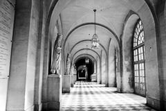 走廊在巴黎 免版税库存图片