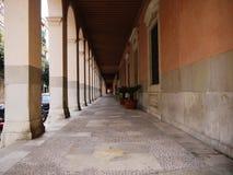 走廊或走廊在房子里 库存图片