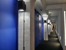 走廊柱子 图库摄影