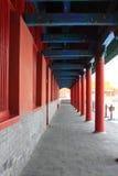 走廊的宫殿 免版税库存图片