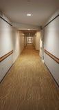 走廊线 免版税图库摄影