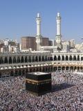 赴麦加Mecca朝圣 库存图片