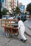 赶大车的人伊斯坦布尔 免版税库存图片