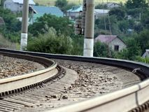 起动铁路 库存图片
