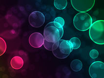 起泡彩虹 向量例证
