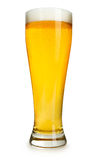 起泡的啤酒 免版税库存图片